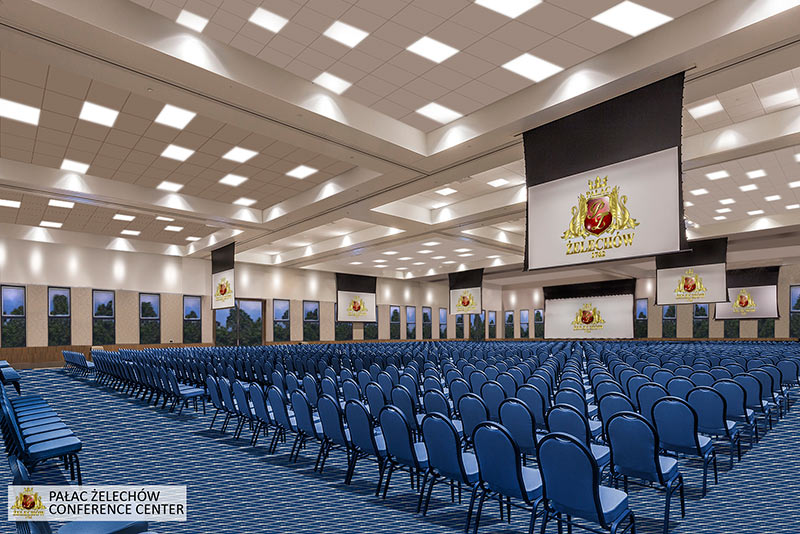 Sala konferencyjna Pałac Żelechów